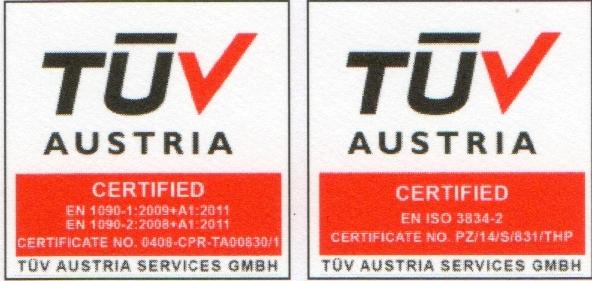 TÜV Zertifizierter Betrieb - Schlosserei Moser GMBH