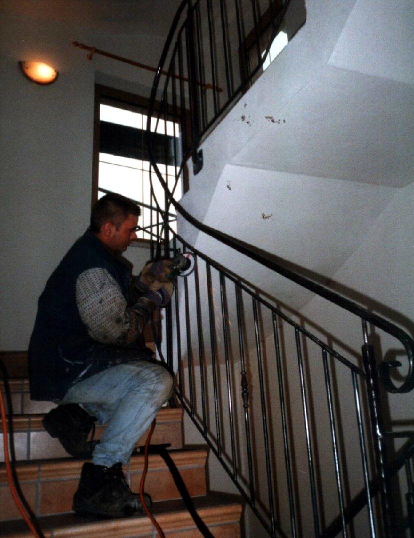 Geländer Treppe Aufgang
