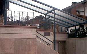 Überdachung Geländersysteme