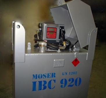 Mobile Dieseltankstelle Moser GmbH Schlosserei