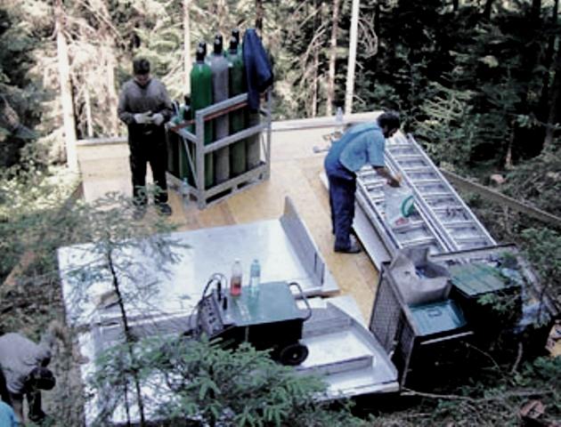 Lagerplatz Trinkwasserspeicher Laubichl