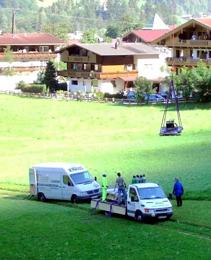 Trinkwasserspeicher Laubichl Zillertal